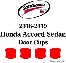 3M Scotchgard Paint Protection Film Clear Pre-Cut 2018 2019 Honda Accord Sedan