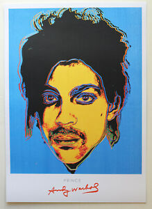 Andy Warhol print. Prince. Mint condition