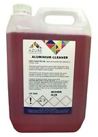 Aluminium Cleaner Degreases Removes Dirt Atmospheric Tarnish Oxidation - 5L