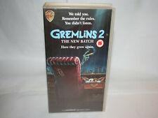 ✔️📼 RETRO GREMLINS 2 THE NEW BATCH VHS TAPE - UK SELLER