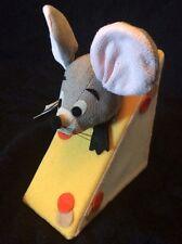 Dream Pets Roquefort Mouse Cheese Dakin Velveteen Stuffed Plush Animal New Repro