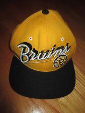 Vintage Zephyr BOSTON BRUINS (Adjustable Snap Back) Cap