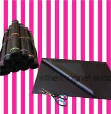 2 X Grande A2 Magnético Hojas Grandes Craft Imán Rollos 0,4 Mm Flexible Spellbinders