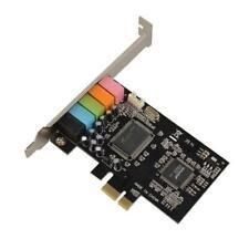 PCI Express PCI-E 5.1ch CMI8738 Audio-Soundkarte mit Low-Profile-Halterung 2018
