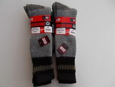 Wolverine Made In USA Men's Merino Wool Blend Over The Calf Size 9-13 Four Pairs