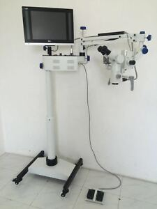 Video Colposcope with 3 Step - Manual Focusing - FREE SHIPPING- WHITE
