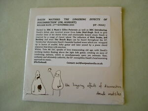DAUDI MATSIKO The Lingering Effects Of Disconnection EP new sealed CD single