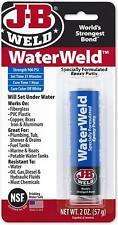 J-B Weld 8277 Waterweld epoxy putty adhesive sets underwater - 57g