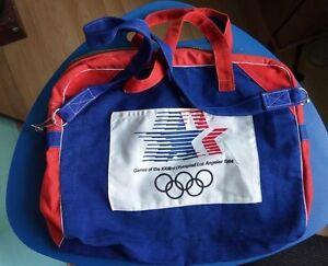 Vintage Bag Los Angeles Olimpiad 1984 Olympics new old Stock