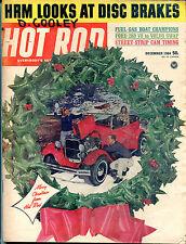 Hot Rod Magazine December 1964 Christmas Ford 289 V8 Volvo Swap VGEX 122415jhe