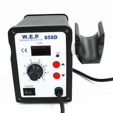 New WEP 858D-220V Hot Air Gun Rework Station BGA Solder Soldering Reballing