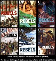 Rebels (Dark Horse) 1 2 3 4 5 6 Complete Set Run Lot 1-6 VF/NM