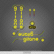 0959 Gitane Bicycle Stickers - Decals - Transfers - Yellow/Gold