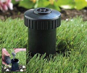 Discrete Sprinkler Head Key Safe Keeper Hide Security Store Garden Stone Case #