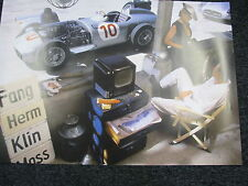 Poster Mercedes-Benz W196 in Pits (JS)