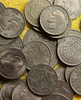 100 ENGLISH HALFCROWNS OLD BRITISH COINS WHOLESALE COINS