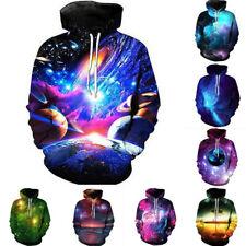 3D Print Mens Casual Hoodie Blouse Pullover Sweatshirt Jumper Tops Jacket Coat