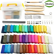 50 Colors DIY Polymer Clay