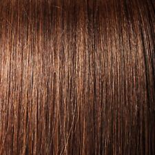 "18"" #4 Medium Brown Straight Stick Tip Human Hair Extensions Pre-bonded NEW"