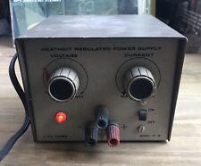 Vintage Electronics Heathkit Model Ip 18 Regulated Power Supply 1 15v 500ma