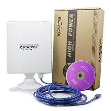Kasens N9600 6600MW Alta Potencia 150 Mbps USB adaptador inalámbrico WiFi 80dbi Antena