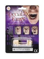 Special fx crocs rétractables ajustement personnalisé vampire halloween party fancy dress
