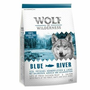 Wolf of Wilderness, Classic Dry Dog Food1kg, Lamb, Duck, Venison, Salmon, Boar