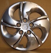 "Genuine Honda Civic hub cap 15"" wheel cover 2013, '14, '15 5 twisted spoke #29CM"