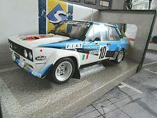 FIAT 131 Abarth Rallye Monte Carlo Winner 1980 #10 Röhrl Geistdörfer Solido 1:18