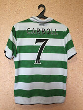 CELTIC SCOTLAND 2010/2012 HOME FOOTBALL SHIRT JERSEY CAMISETA MAGLIA #7 CARROLL