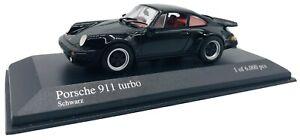 Minichamps 1/43 Porsche 911 Turbo 1977 Noir 430069006