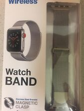 Watch Band Magnetic Clasp Fits Apple Watch  Series 1,2,3 & 4