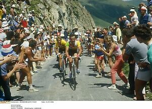 GREG LEMOND & BERNARD HINAULT TOUR DE FRANCE 1986 ALPE D'HUEZ POSTER NO.2