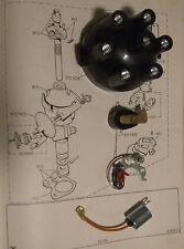 TRIUMPH Vitesse 2.0 DISTRIBUTOR CAP POINTS ROTOR ARM CONDENSER (Lucas Type)