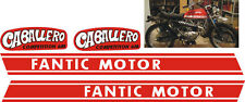 Fantic Caballero Competition 6M- adesivi/adhesives/stickers/decal