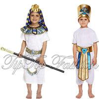 NUOVO EGIZIANO FARAONE RE Costume Book Week bambini PARTY VESTITO
