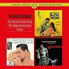George Duning - World of Suzzie Wong + Eddy Duchin Story + Picnic [New CD] Spain