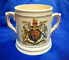 Antique Queen Elizabeth Coronation Mug Tankard 1953