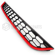 FORD FIESTA MK7 BLACK RED ZETEC S HONEYCOMB FRONT BUMPER LOWER BOTTOM GRILLE
