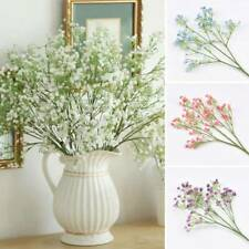Artificial Gypsophila Baby Breath Fake Flower Bouquet Home Wedding Garden Decor