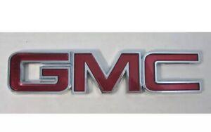 GMC Safari Sonoma Suburban Rear Trunk Tailgate Emblems Nameplate Badge 1998-05