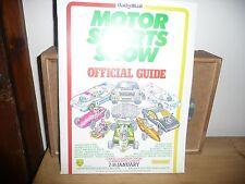 Vintage 1983 Motor Sports Show Official Programme
