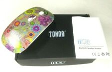 Tonor Bluetooth 3.0 Ultra-thin Wireless Mouse Secret Garden Multi Color Floral