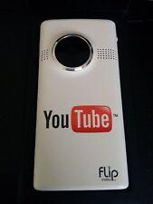 Flip MinoHD Video Camera 4 GB, 1 Hour 3rd Generation - White