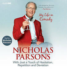 ~Nicholas Parsons: My Life in Comedy Autobiography AUDIO CD x 12 - VGC~