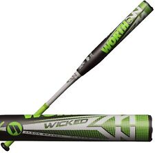 "2019 Worth Wicked USSSA Jason Branch XL 34""/24oz. Slowpitch Softball Bat WKJBMU"