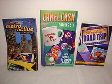 Lot of 3 Different Vintage 1990's Joe Camel Cash Catalogs. 75+ Pages 100+ Items