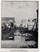 1900  --  ALASKA  FRONT STREET   RUE PRINCIPALE A NOME    3K863