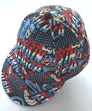 Captain America Avengers Hat Marvel Comics Cotton Men & Teens Cap Size L/XL