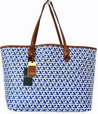 Ralph Lauren Romilly II Classic Shoppers Bag Blue  Agsbeagle